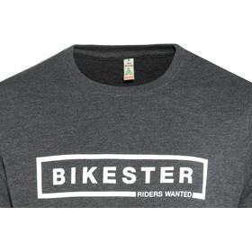 Bikester Logo Shirt Hombre, melange black